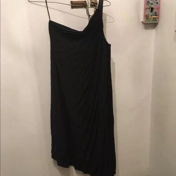 Dior Dresses & Skirts - CHRISTIAN DIOR PLEATED ONE SHOULDER DRESS